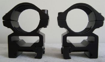 "Nikko Match Mounts mk2 1""/25mm Weaver/Picatinny Base Medium NSMM1WM"